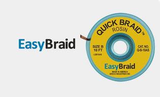 Purchase Premium Quality Soldering And Desoldering Braids From EasyBraid