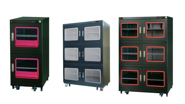 Low Humidity Dry Cabinets from Dr. Storage