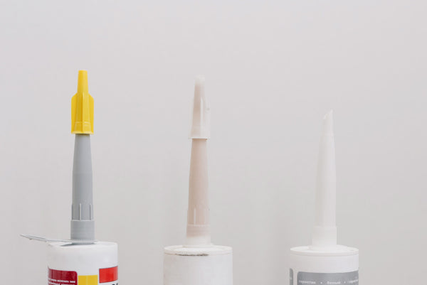 Image of dispensible bottles' nozzles