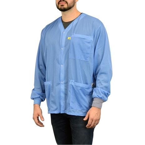 Dual-Wire ESD Smock from SCS