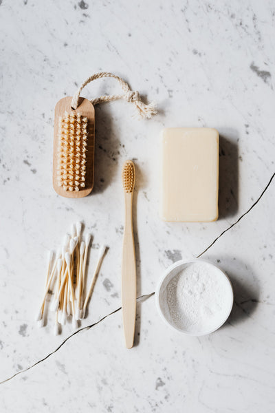 Cotton swabs and brushes for cleaning