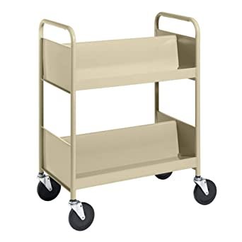 Standard mobile double-sided supply cart