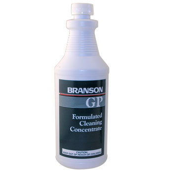 Branson GP 000-955-014 General Purpose Solution for Ultrasonic Cleaners, 1 Quart