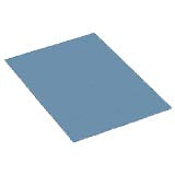 "Desco 10187 Micastat ESD-Safe Laminate 48"" x 12' Blue"