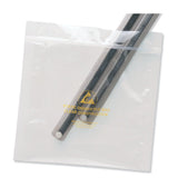 "Desco 13882 Ultra Clear ESD-Safe Zip-Top Barrier Bags, 8"" x 10"" 100/pk"