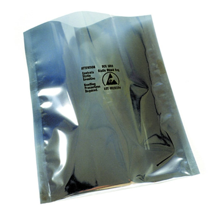 "SCS 1501024 Metal-Out Open-Top Static Shielding Bags , 10"" x 24"" 