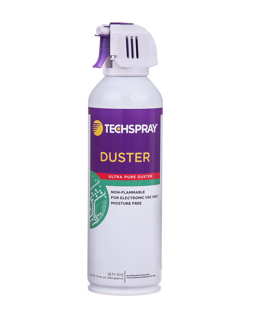 TechSpray 1671-10S Non Flammable Air Duster, 10 oz, Canned Air