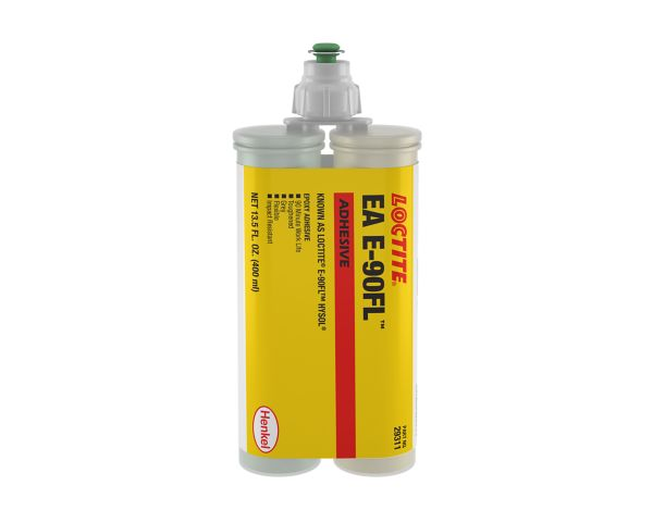 Loctite 219298 Hysol E-90FL Epoxy Adhesive, 50 ml dual cartridge
