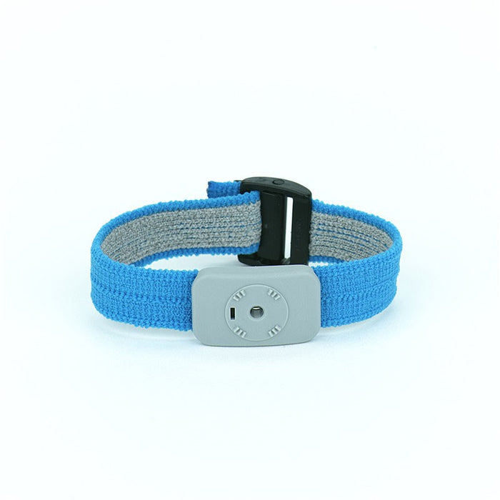 SCS 2368 ESD-Safe Blue Dual Conductor Adjustable Wrist Strap