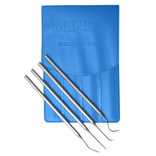 Menda 35630 Stainless Steel 4 piece Probe Kit with Pouch