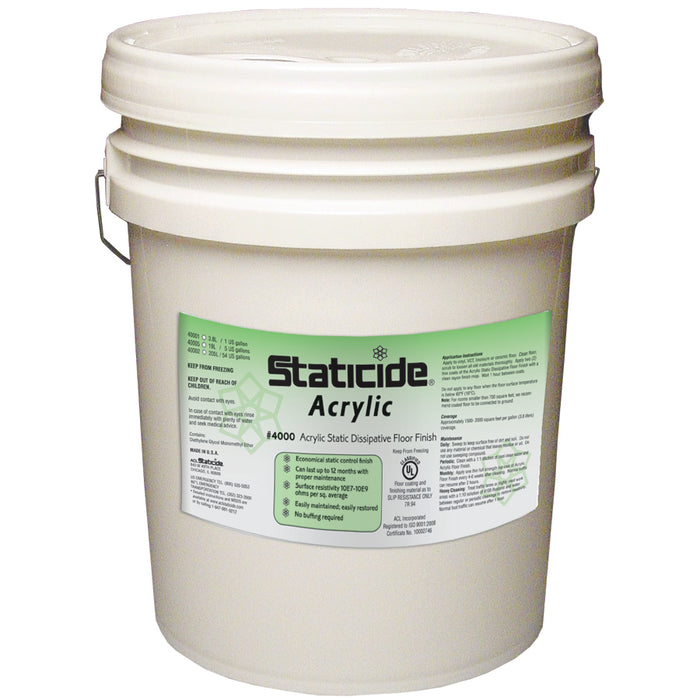 ACL Staticide 4000 Floor Finish 5GAL