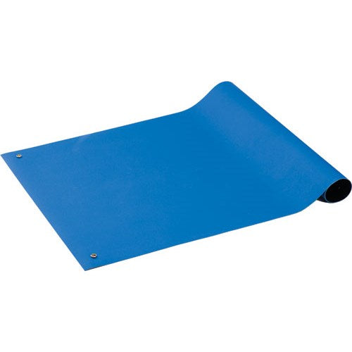 "ACL Staticide 5953672 ESD-Safe Gemini 2-Layer Table Matting 36"" x 72"" Royal Blue"