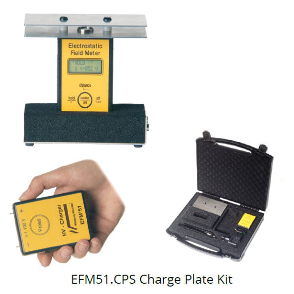 Warmbier EFM51.CPS Charge Plate System and Field Meter