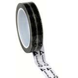 "Desco 79211 ESD-Safe Clear Tape with Symbols 1"" x 72 yds"