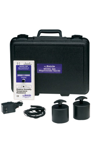 ACL Staticide 800 Digital Megohmmeter, NIST Certified