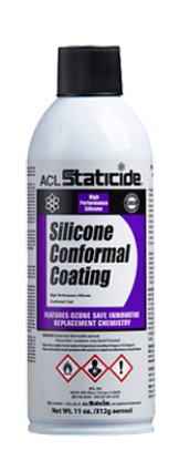 ACL Staticide 8695 Silicone Conformal Coating, 11 oz.