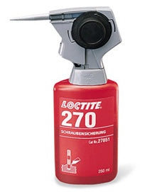 The Loctite 88631 Hand Pump for use With 250ml Anaerobic Bottle is a hand-held bottle-top applicator that mounts easily on any Loctite® 250 ml bottle. It will not leak regardless of the orientation of the bottle which minimizes waste and converts the prod
