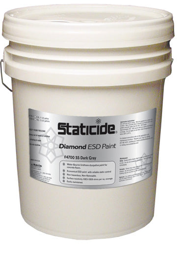 ACL Staticide 4700-SS5 Staticide Diamond ESD-Safe Paint, 5 gallons