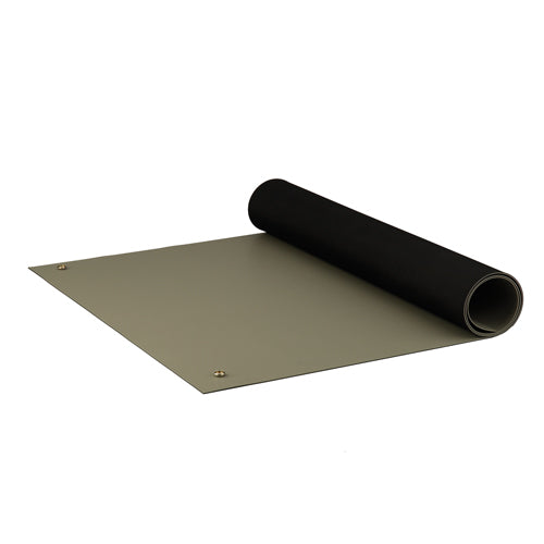 "ACL 8385DGYM2472 Dualmat ESD-Safe Table Mat, 24""x72"", Dark Grey"