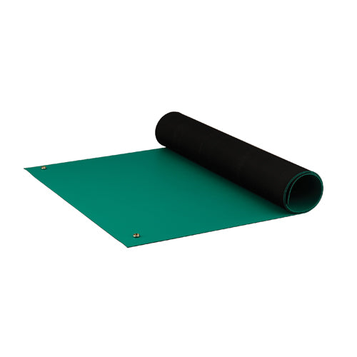 "ACL 8185GM2472 Dualmat ESD-Safe Table Mat, 24""x72"", Green"