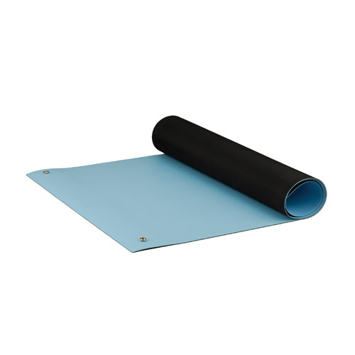 "ACL 8085BM3072 Dualmat ESD-Safe Table Mat, 30""x72"", Light Blue"