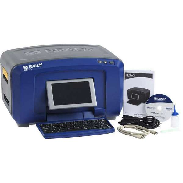 Brady BBP37 Mutli-Color and Cut Sign & Label Printer