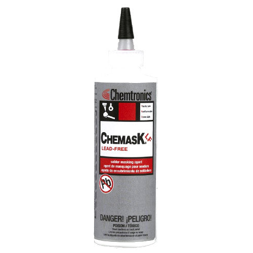 Chemtronics Chemask CLF8 Lead-Free Solder Masking Agent, 8 oz