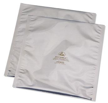 "Desco 13605 Statshield Static Shielding Metal In Open-Top Bag, 3""x5"""