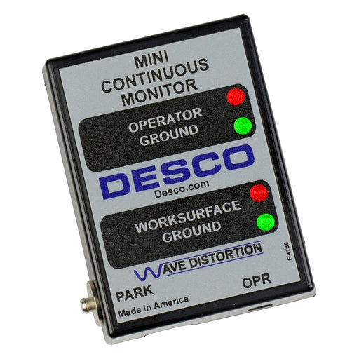 Desco 19243 - Continuous Mini Monitor, Universal Power Adapter