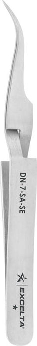 Excelta DN-7-SA-SE Reverse Action Tweezers, Very Fine Points