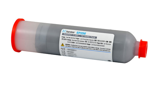 Kester EP256 Solder Paste, No-Clean, Easy Profile, 600 gr cartridge
