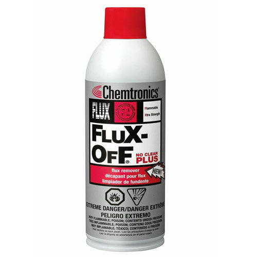 Chemtronics ES1696 Flux-Off No Clean Plus Flux Remover, 12oz