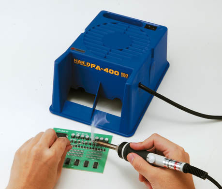 Hakko FA400-04 ESD-Safe Benchtop Fume Extraction Unit