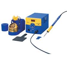 Hakko FM203-01  ESD-Safe Dual Port Soldering System with 1 Soldering Iron