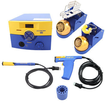 Hakko FM204-CP ESD-Safe Self Contained Rework System with (1) FM2024 & (1) FM2027 Irons