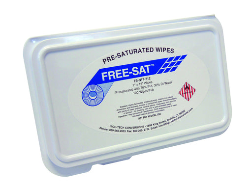 High-Tech Conversions FS-NT1-712 Pre-Saturated Wipes