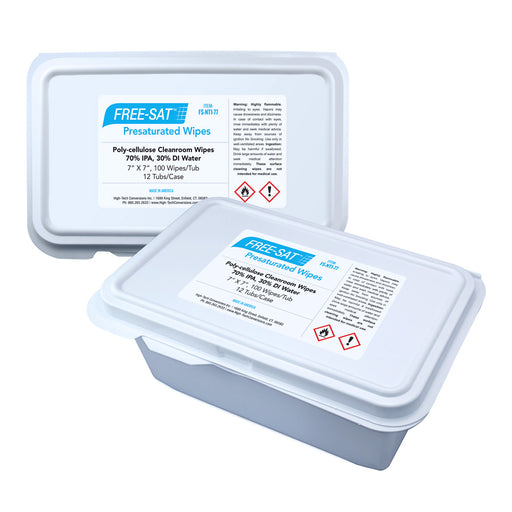 High-Tech FS-NT1-77 Pre-Sat Wipes