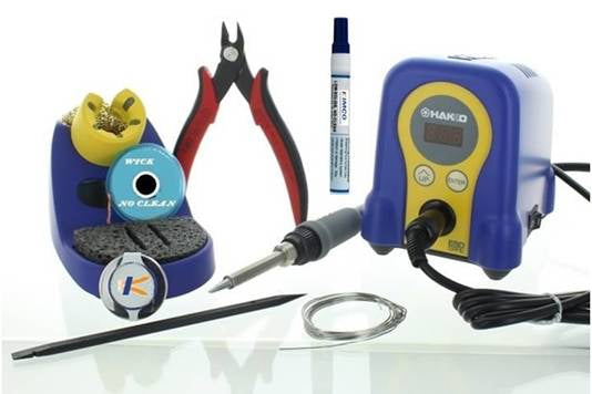 Hakko FX888D Bundle | Solder Station with Soldering Kit