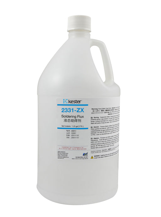 Kester 2331-ZX Organic Water Soluble Liquid Flux