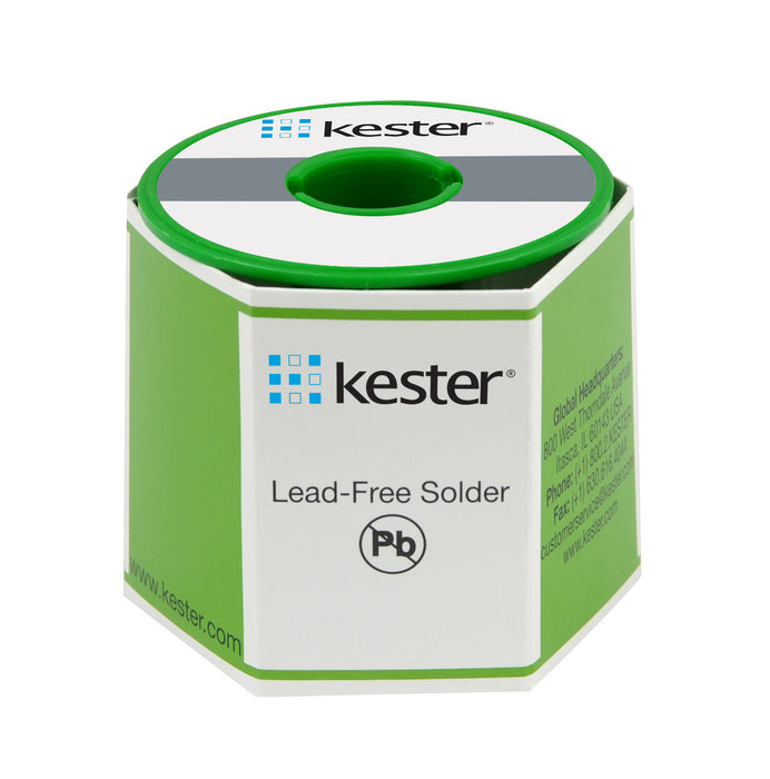 Kester 24-9574-7618 K100LD Solder Wire, Lead Free 275 No-Clean, .031 dia., Core 66, 1 lb. roll
