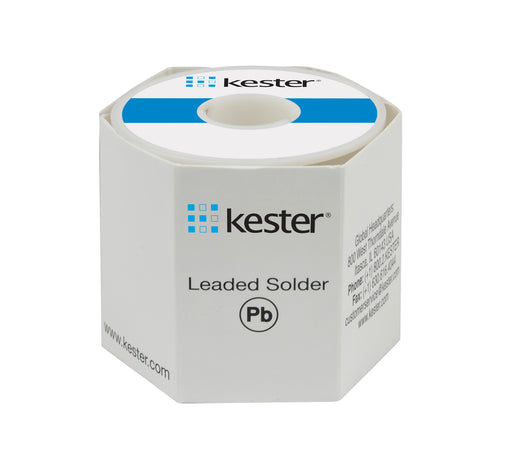 "Kester 24-6337-6401 | Sn63/Pb37, 331 Water Soluble, .020"" diameter, 66 Core, 1 lb."