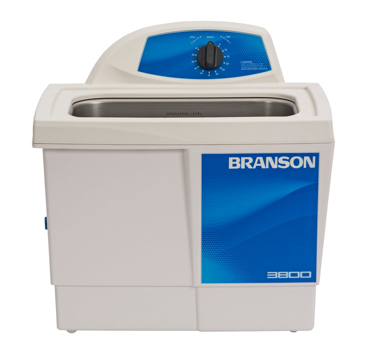 Branson M3800H Ultrasonic Cleaner with Timer & Heater, 1-1/2 gallon (Formerly B3510-MTH)