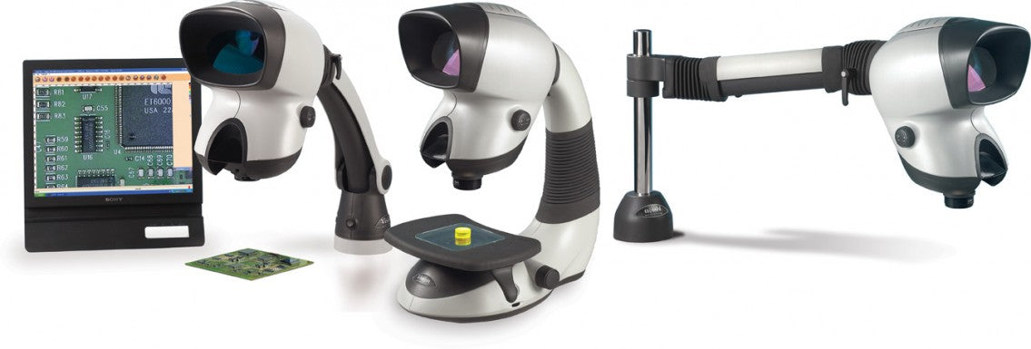 Vision Mantis MHD001 / MEF-001 Elite Microscope with HD Camera and Software with Articulating Arm