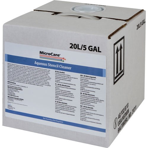 MicroCare MCC-BGAP Stencil Cleaner, 5 gallon cube