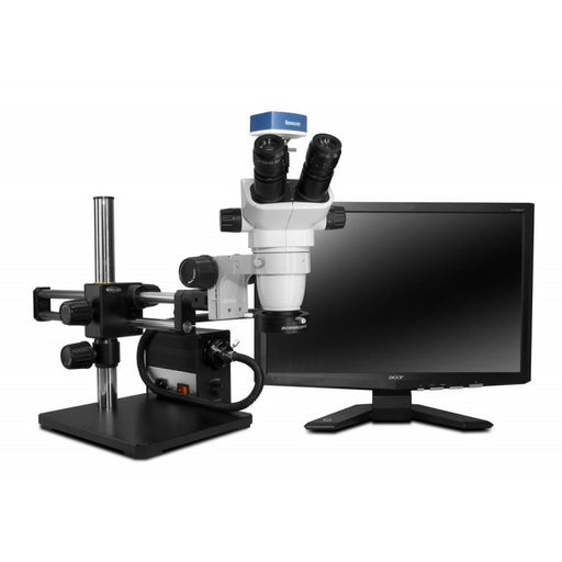 Scienscope SZ-PK10-AN Stereo Zoom TRUE Trinocular Microscope