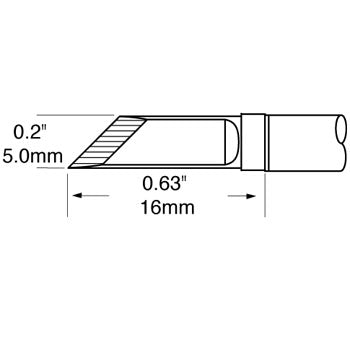 "Metcal SFP-DRK50 Drag Knife Cartridge 5.0mm (.20"") for MFR Systems"