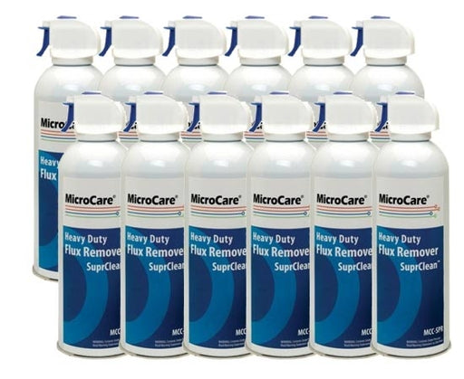 MicroCare MCC-SPR SuprClean™ Defluxer Degreaser, 12 oz. Aerosol | Case of 12 cans