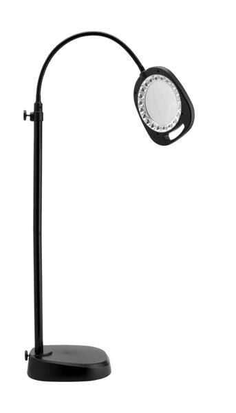"Daylight UN1081 5"" LED Table / Floor Lamp with Magnifier"
