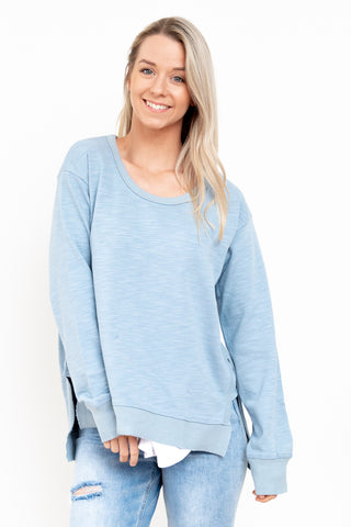 Ulverstone Sweater - Duck Egg Blue || 3rdStory