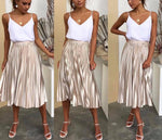 The Romeo Skirt - Gold